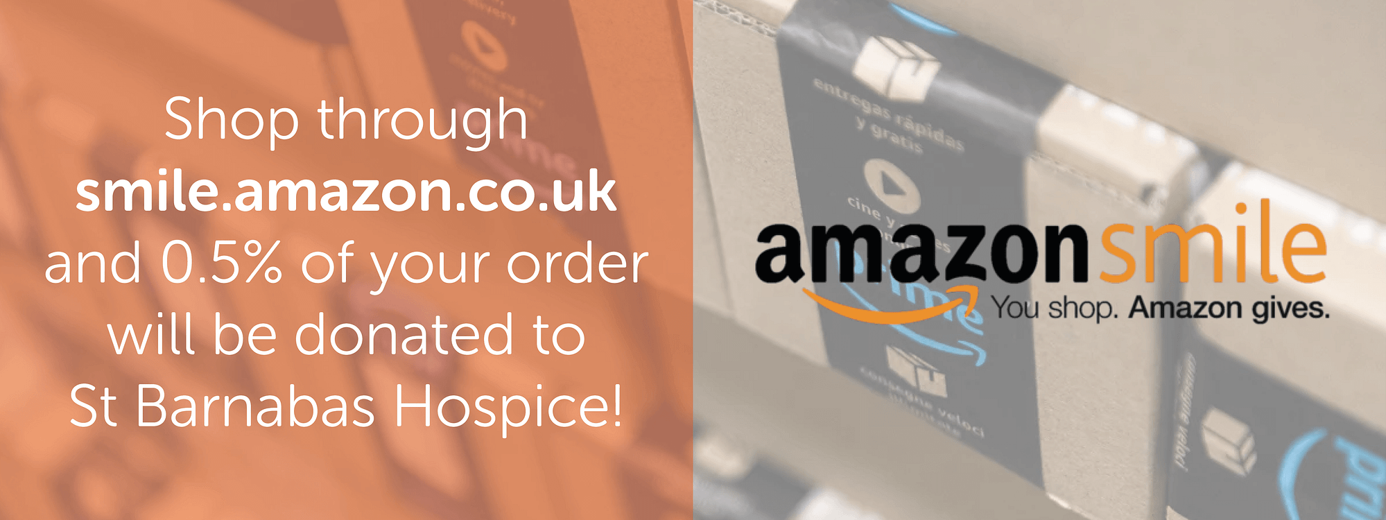 Did you know you we've signed up with AmazonSmile?