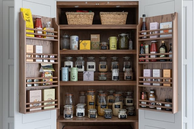 Tiered Shelving - Pantry