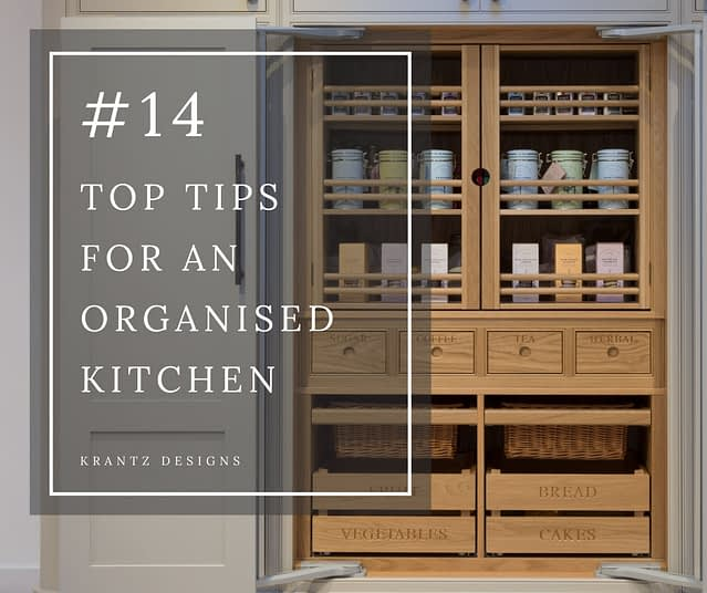 top tips for an organised kitchen - blog
