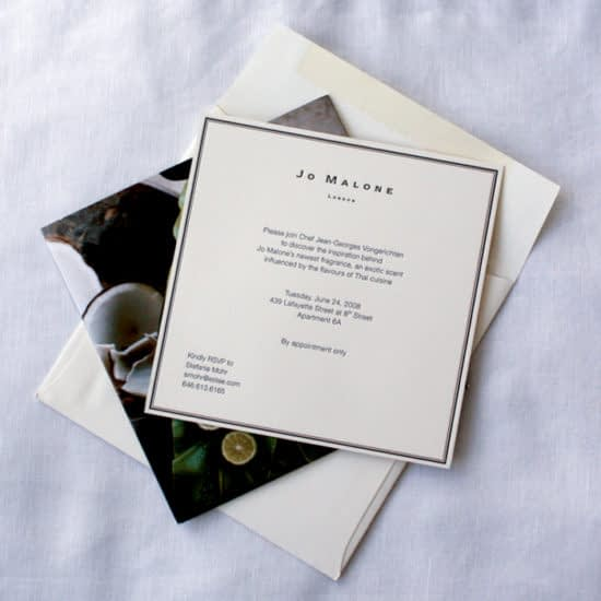 Packaging Inserts Jo Malone