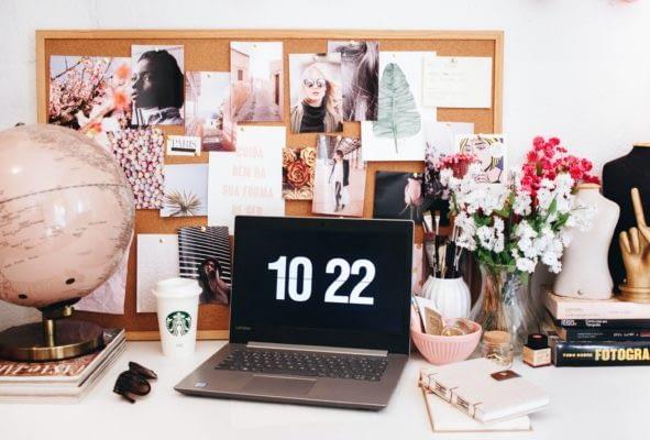 Ella Jardim home office desk
