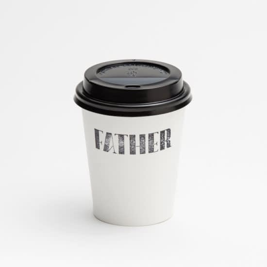 NICHOLAS CHRISTOWITZ Father coffee cup design