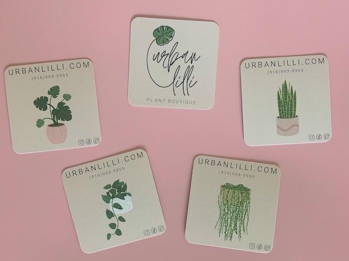 Plant cards by Urban Lilli