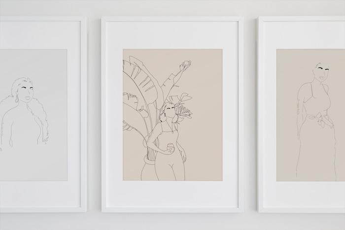 Line and Honey line artworks