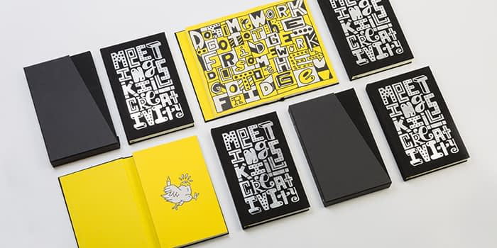 Timothy Goodman notebooks