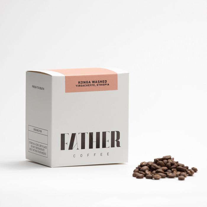 Coffee packaging by NICHOLAS CHRISTOWITZ