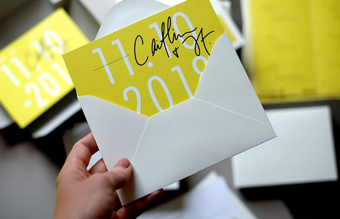 The Letterist card in envelope