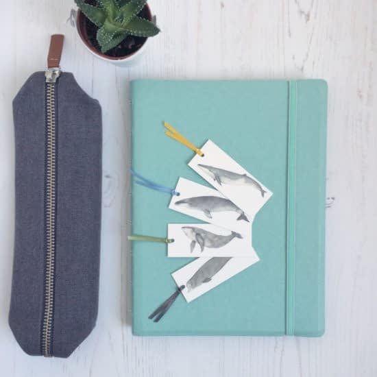 Mini bookmarks by Dani Williams