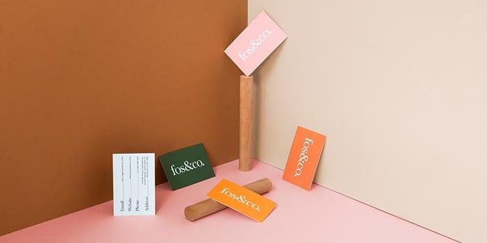 Minimal business card designs