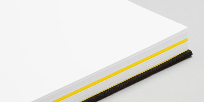 Timothy Goodman notebook with yellow central pages