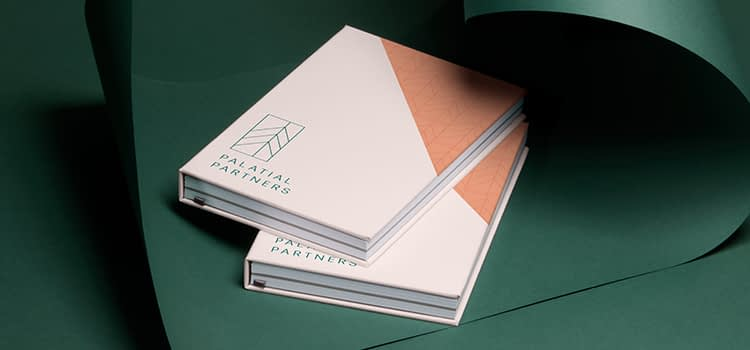custom notebooks with 2 colors