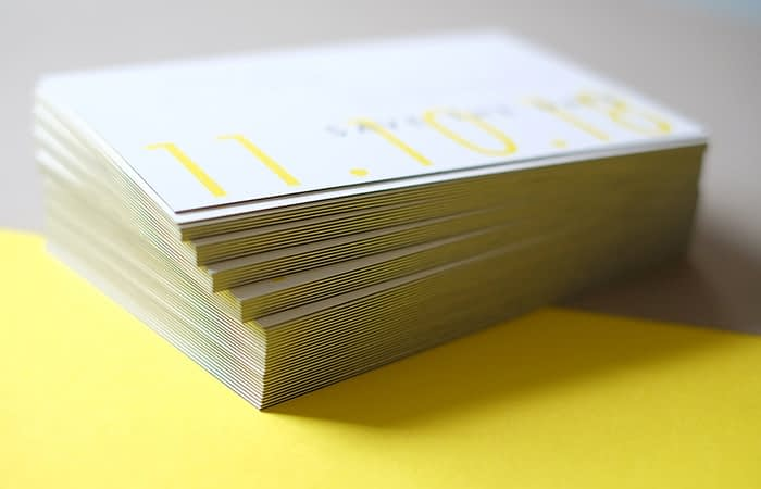 The Letterist luxury business cards