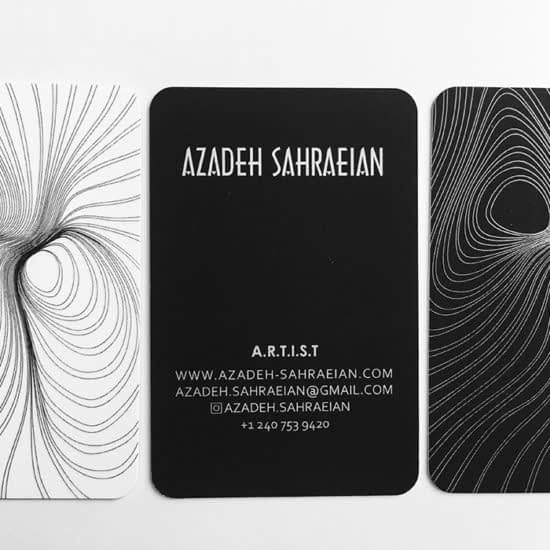 Azadeh business cards