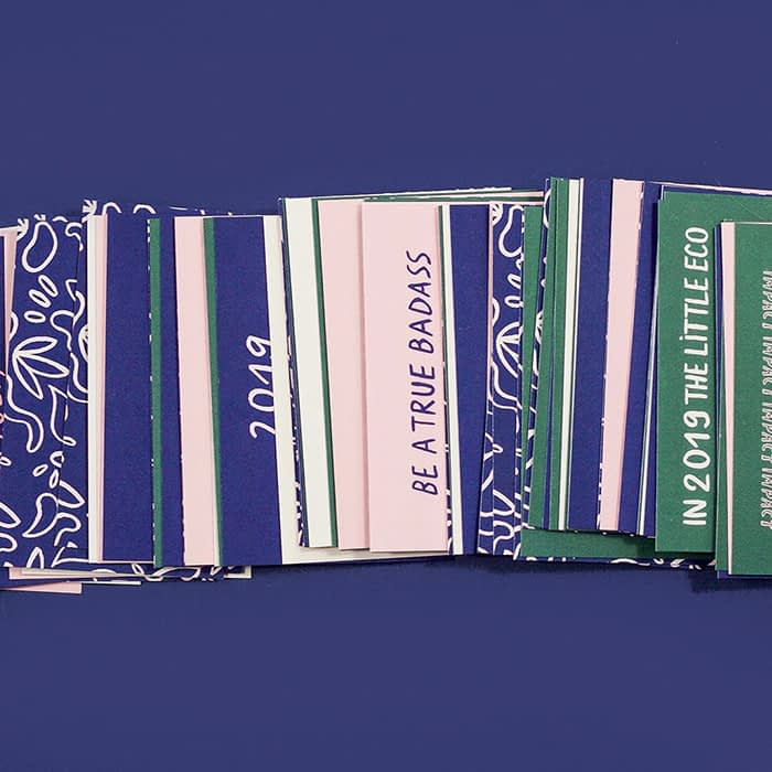 Melanie Johnsson cards in various designs and colors