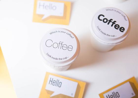 Coffee font options