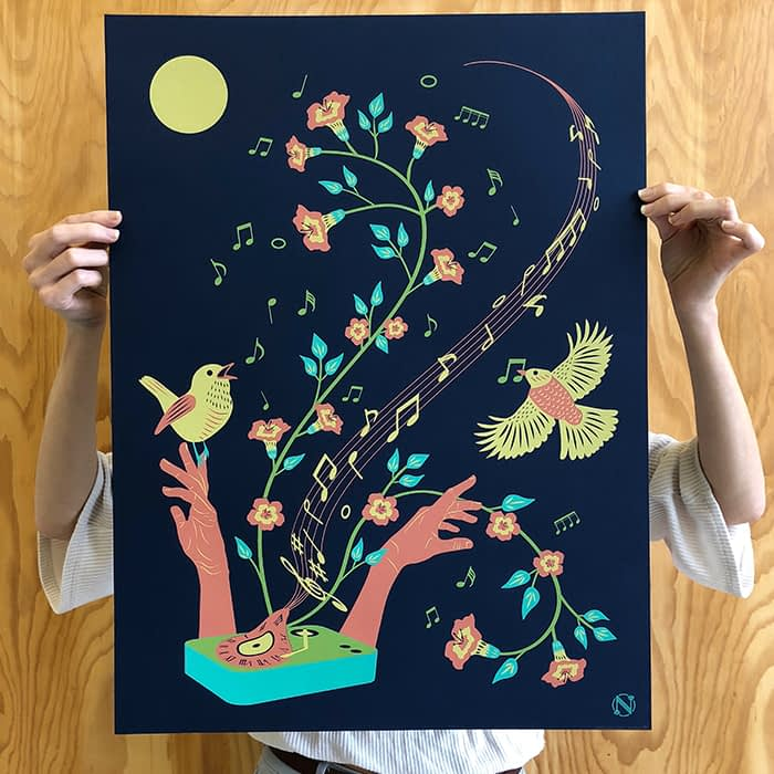 Natalie Luz art print