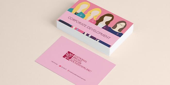 NBCF nonprofit business cards