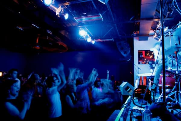 The venue at Third Man Records