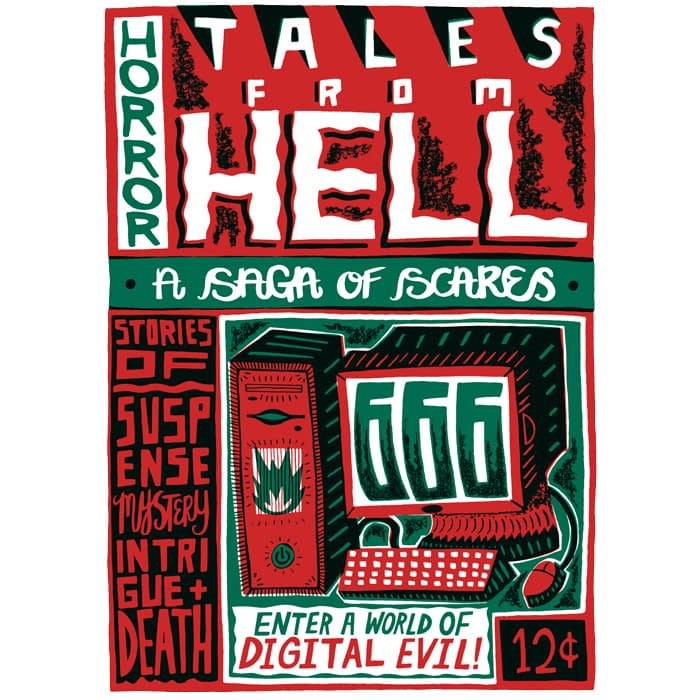 Tales from hell design by Charlie Gould