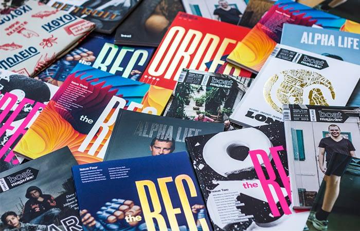 the REC magazine