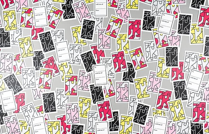 Tim Easley cards in various colors