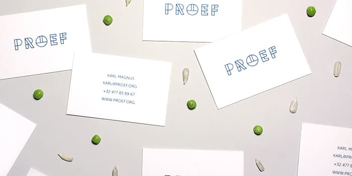 Xavier Segers business cards