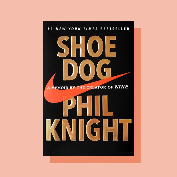 Shoe dog book by Phil Knight