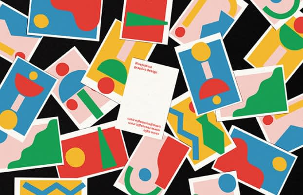 Rocio Egio business card designs
