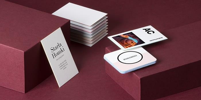 Luxury premium business cards