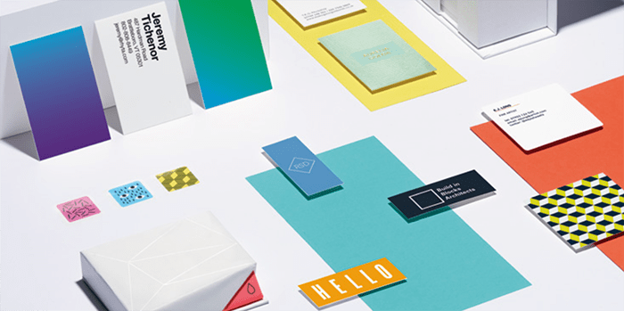 Mini business cards, postcards, flyers and business cards by MOO
