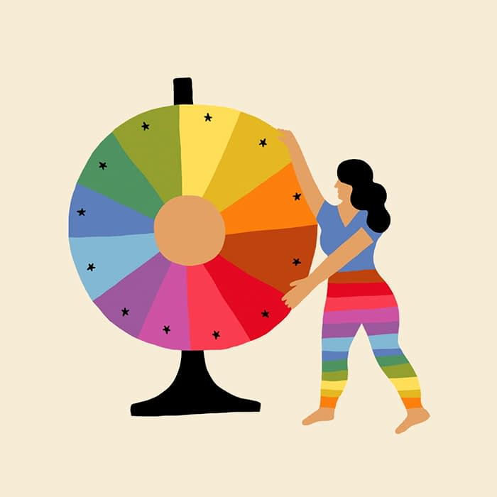 color wheel Melanie Johnsson