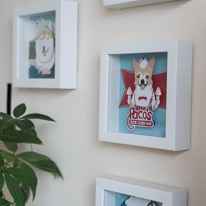 Kathryn Willis framed artworks