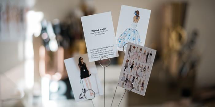 Brooke Hagel business cards