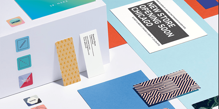 MiniCards, business cards and postcards by MOO