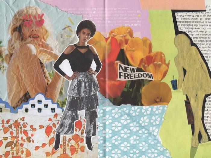 Mixed media artwork by Mya Naguit from Paper Puso