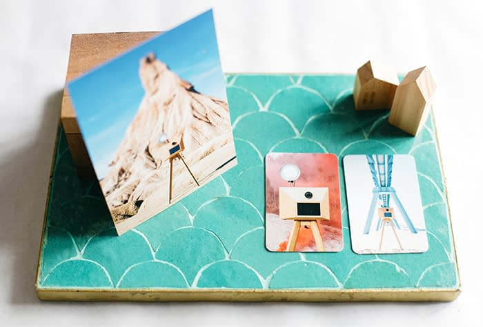 Wild Stories photographer business cards