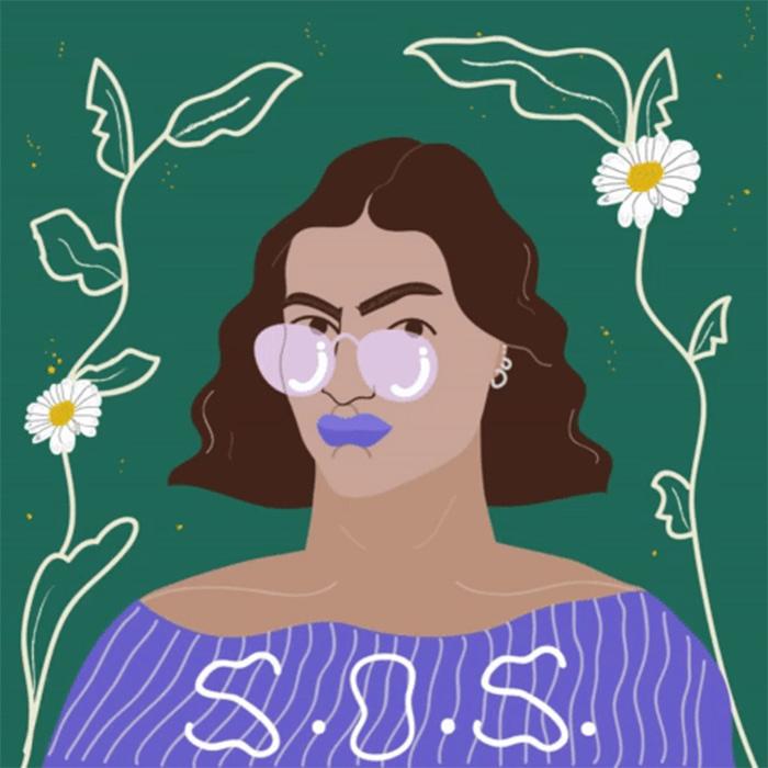Erin Aniker SOS illustration