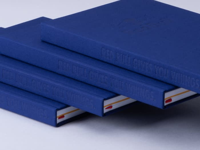 Red Bull Gives You Wiiings blue notebook