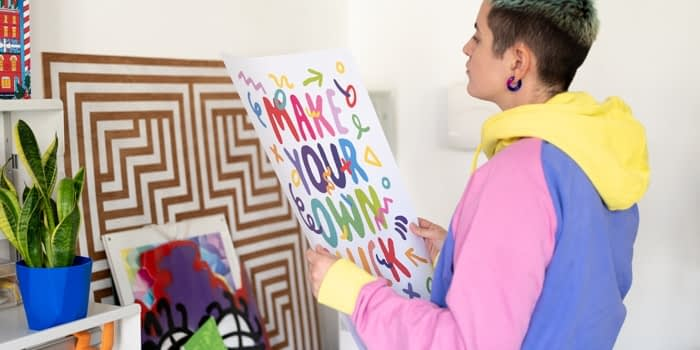 Kate Moross and their art