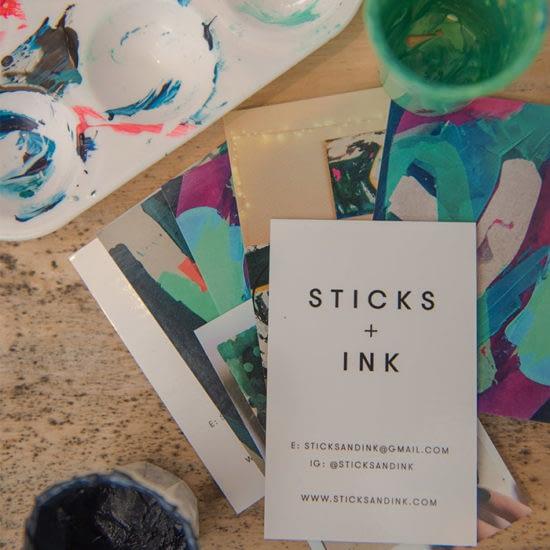 Sticks + Ink business cards
