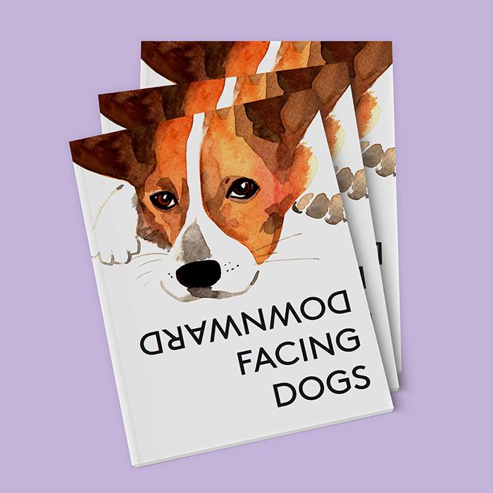 Katie Rose Johnston dog illustrations