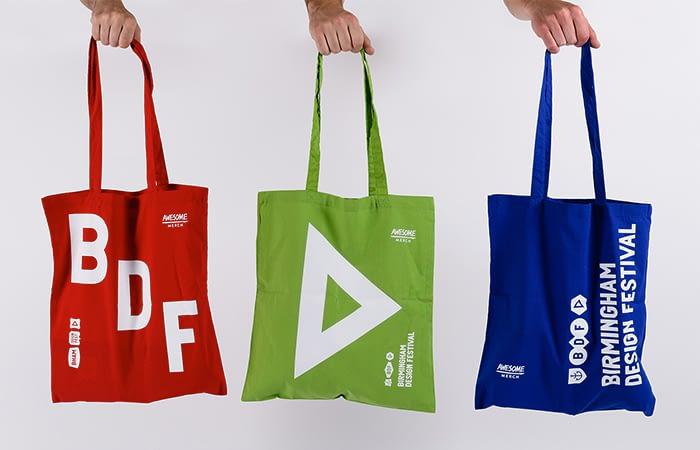 BDF tote bags