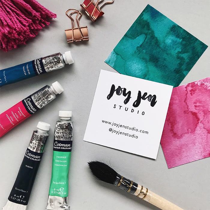 Joy Jen Business Cards