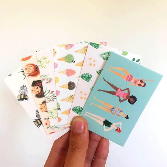 Andrina Menon postcards