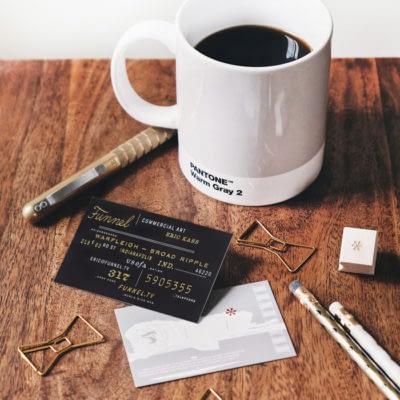 Eric Kass business card design