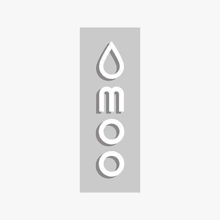 MOO logo Bauhaus-style