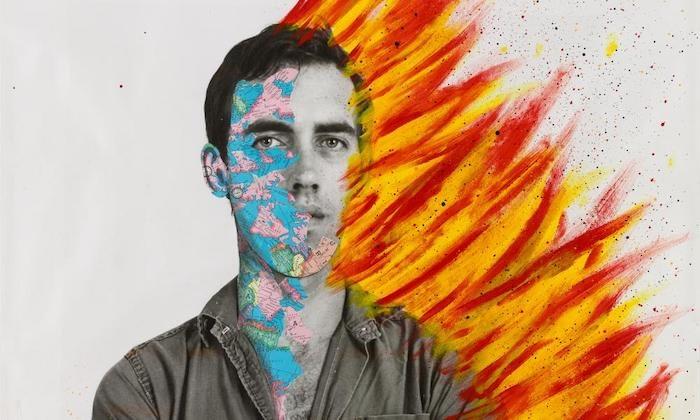 Self-Portrait of David Wojnarowicz, 1983–84. Photograph: Ron Amstutz/Whitney Museum of American Art, New York